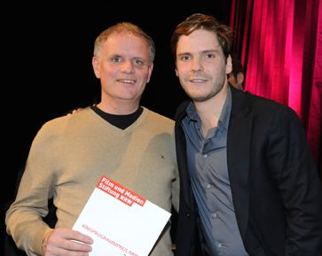 Thomas Wirth mit Daniel Brühl