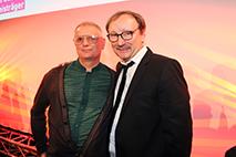 Thomas Wirth mit Rainer Bock